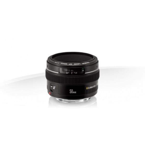 Objetivo Canon EF 50mm f/1.4 USM (Garantia Canon E...