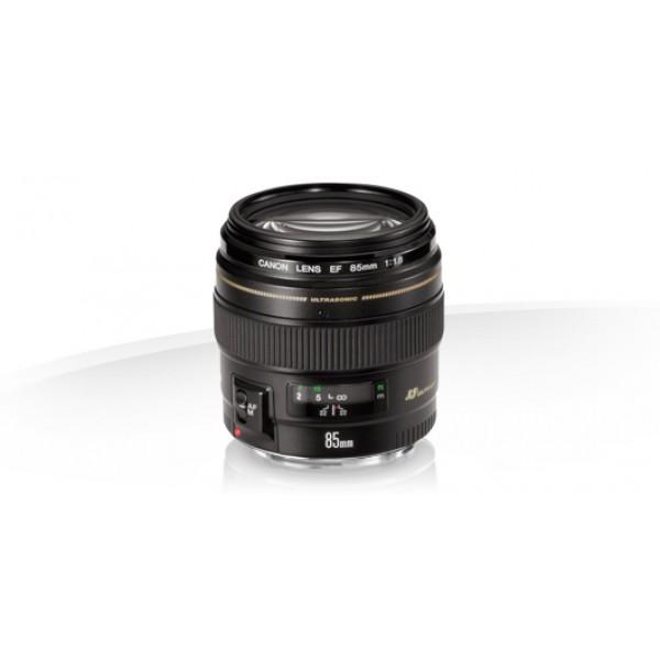 Objetivo Canon EF 85mm f/1.8 USM (Garantia Canon E...