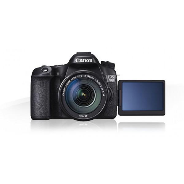 Canon EOS 70D+Canon EF-S 18-135mm IS STM (Garantia Canon España)