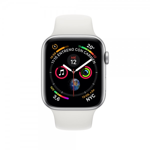 Reloj Apple Watch Series 4 GPS, Caja 40mm Aluminio...