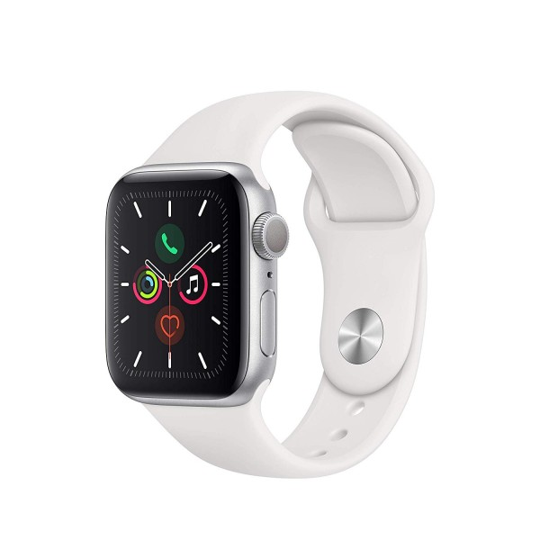 Reloj Apple Watch S5 LTE 44 mm Aluminio en Plata �...