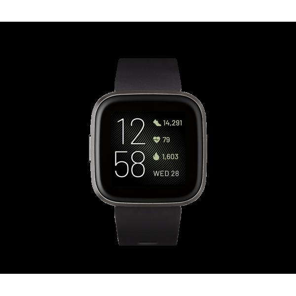 Fitbit Versa 2 correa Negra / Aluminio color Carb�...