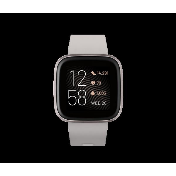 Fitbit Versa 2 correa Gris piedra / Aluminio color...