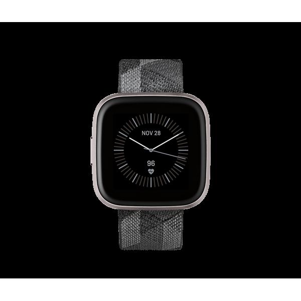Fitbit Versa 2 Textil en Gris / Aluminio color Gri...