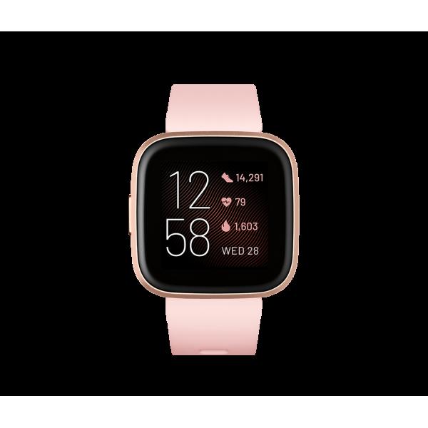 Fitbit Versa 2 Rosa pétalo / Aluminio color Rosa