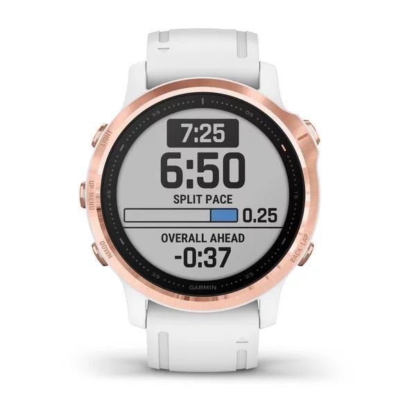 Reloj Garmin fenix 6S ediciones Pro Rose Gold, bla...