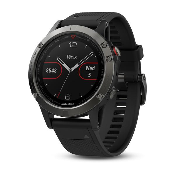 Reloj Garmin Fenix 5 Gris con correa negra Ref: 01...
