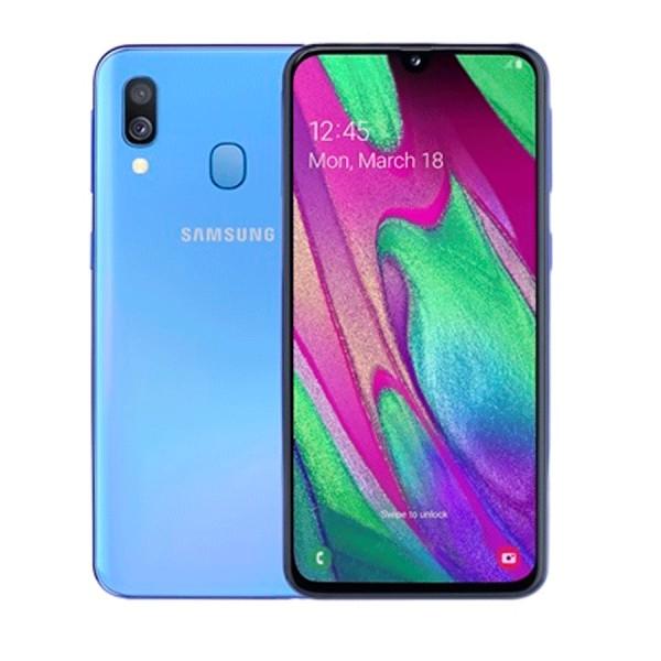 Samsung A40 4GB RAM, 64GB Blue  (Garantía España...