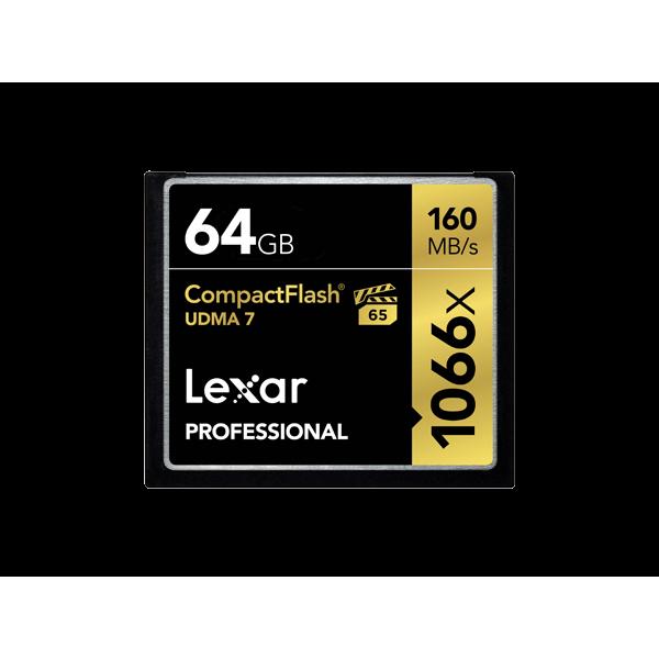 Tarjeta Lexar Professional 1066x CompactFlash de 3...