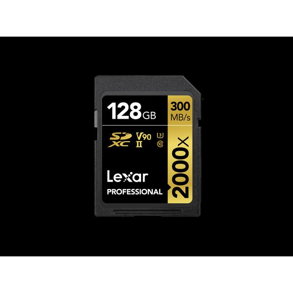 Tarjeta Lexar Professional 2000x SDHC ™ / SDXC �...