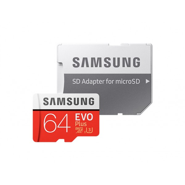 Tarjeta Samsung EVO (adaptador SD) 64GB 100MB/s Re...