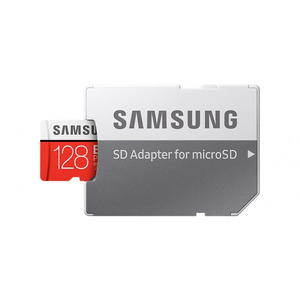 Tarjeta Samsung Micro SD EVO Plus 128GB 80MB/s (con Adaptador SD) Ref: MB-MC128D