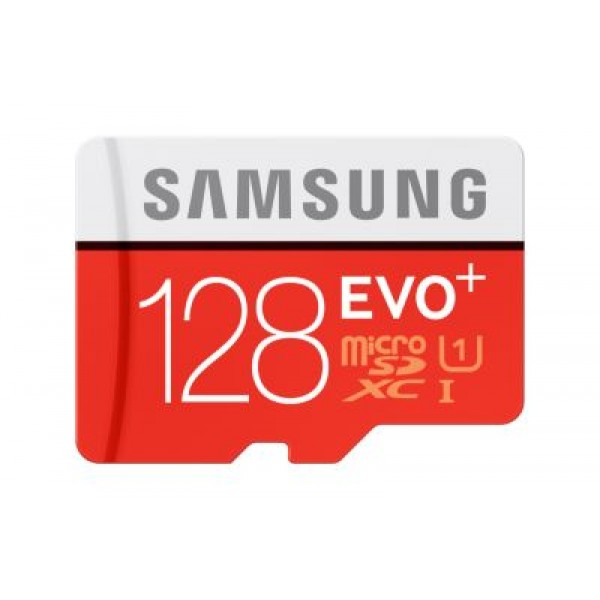 Tarjeta Samsung Micro SD EVO Plus 128GB 80MB/s (co...