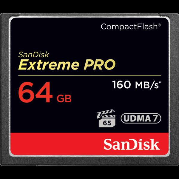 Tarjeta de memoria Sandisk COMPACTFLASH Extreme Pr...