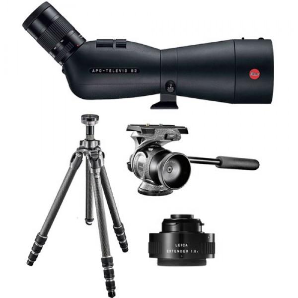 Telescópio Leica APO-Televid 82 Kit de alcance de...
