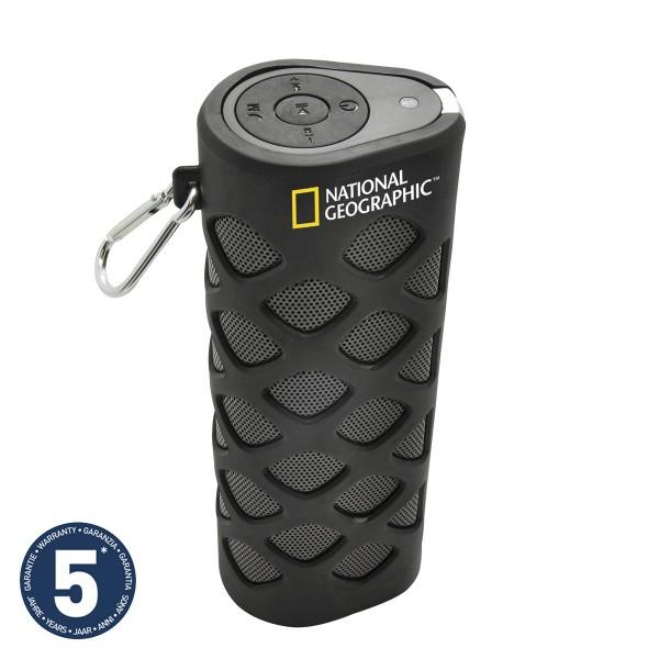 Altavoz portátil Bresser National Geographic con Bluetooth y NFC + Accesorio para bicicleta Ref: 9684001CM
